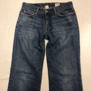 LUCKY BRAND Boot Cut Blue Denim Jeans 4 / 27